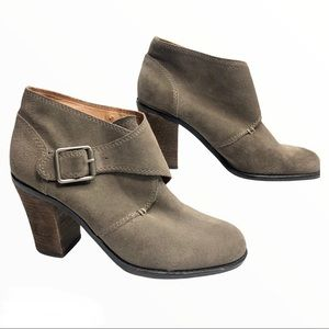 Lucky Brand Suede Mickie Booties